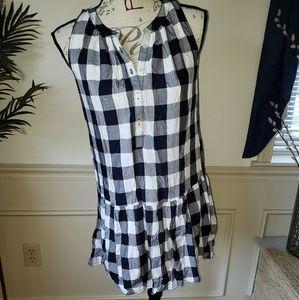 NWT Ann Taylor LOFT XXSP checkered dress